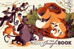 JUNGLE BOOK DISNEY R2016 Limited edition print #285 TOM WHALEN MINT