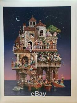 James Christensen Superstitions with Book 1997 Signed Limited Edition #5 of 2500
