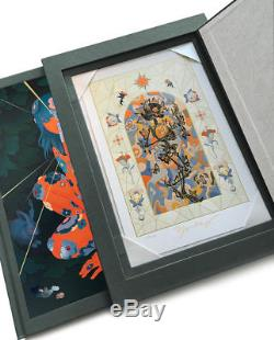 James Jean AZIMUTH IMMORTAL SLIPCASE EDITION Signed Giclee Art Print and Book