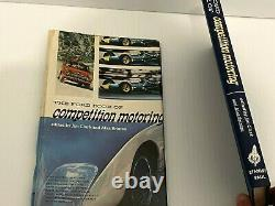Jim Clark, Hand Signed, 1965 1st Edition, The Ford Book Of Competition Motoring
