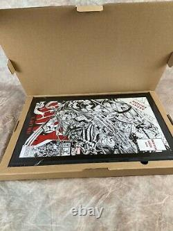 Jim Lee's X-Men Artist's Edition IDW Hardcover book Signed Numbered Variant