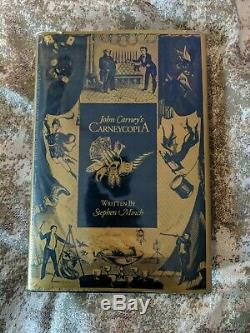 John Carney's Carneycopia Magic Book-1st Edition Signed