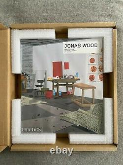 Jonas Wood Bball Studio 2019 Print and Book Signed Edition of 200