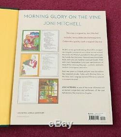 Joni Mitchell Signed Book Morning Glory On The Vine Limited Edition Slipcase