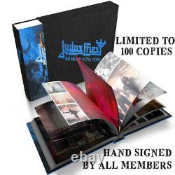 Judas Priest 50 Heavy Metal Years SIGNED Book CHARITY EDITION xx/100 NUMBERED
