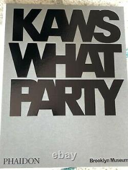 KAWS SIGNED WHAT PARTY White (Signed edition) Book Limited Edition