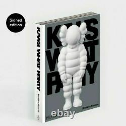 KAWS WHAT PARTY Signed Book PRE-ORDER, edition of 500, Brooklyn Museum