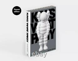 KAWS x Phaidon What Party Book Signed Edition Print LE of 500 SOLD OUT Preorder