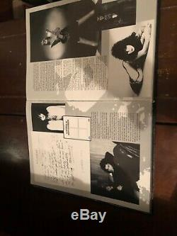 KISS KISSTORY Book Hardcover Signed by Band, First Edition, no protector, VERY NICE