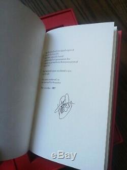 Kate Bush How To Be Invisible book Rare Signed Deluxe Edition number 157 of 500