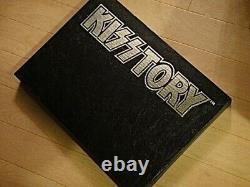Kiss Kisstory Book Signed by Ace Frehley Peter Criss Paul Gene Limited Edition
