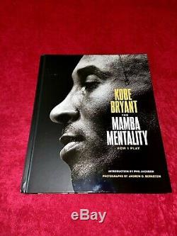 Kobe Bryant Lakers Mamba Mentality Signed 1st Edition Hardcover Book