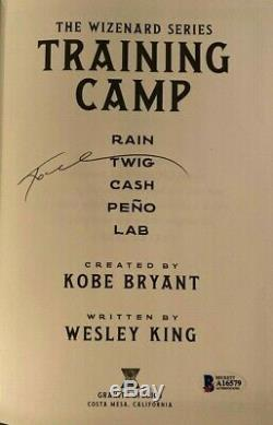 Kobe Bryant Signed Autographed Book The Wizenard First Edition Beckett COA