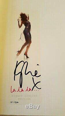 Kylie Minogue Hand Signed Autographed La La La photo Book LIMITED EDITION