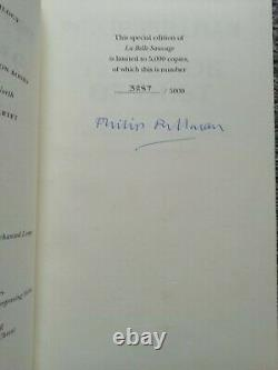 La Belle Sauvage The Book Of Dust Philip Pullman First Edition Signed