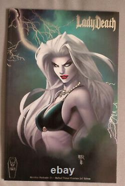 Lady Death Michael Turner Variant Cover Set 3 Comic Books Limited Edition RARE