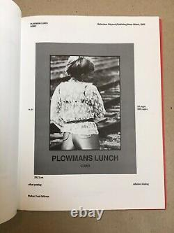 Lawrence Weiner Books 1968-1989 Catalogue Raisonne SIGNED FIRST EDITION RARE