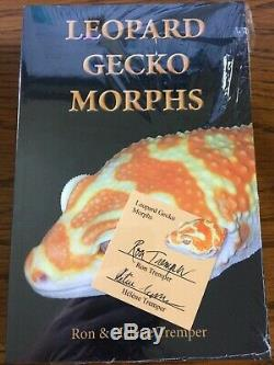 Leopard Gecko Morphs Book By Ron Tremper Helene 2019 SIgned 1st Edition NEW