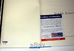 Linda Ronstadt Signed Autograph Simple Dreams 1st Edition Book PSA/DNA COA