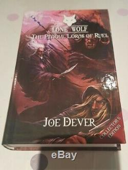 Lone Wolf (Joe Dever) Collectors Hardback Editions Books 1 to 13 SOME SIGNED