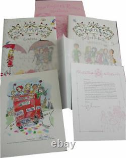 MADONNA THE ENGLISH ROSES SIGNED DELUXE 1st EDITION BOOK BOX SET