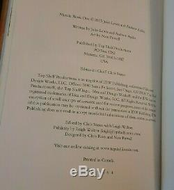MARCH Book One SIGNED by John Lewis 2013 First Edition 4th Printing HARDCOVER