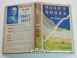 MAX FLEISCHER Animation Film Cartoon Movie SIGNED 1944 FIRST EDITION BOOK NOVEL