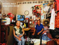 MICHAEL WOLF Hong Kong Inside/Outside 2 SIGNED Photos with DELUXE Edition Book