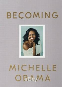 MICHELLE OBAMA Signed Autographed BECOMING Deluxe Edition Cloth Hardcover Book