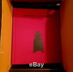 MR. BABADOOK BOOK'POP-UP' SIGNED by Jennifer Kent 1st Edition