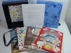 Madonna Signed Letter 5 Book Ltd edition Boxed Set 2005 Sealed & Unopened
