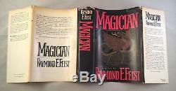 Magician-Raymond E. Feist-SIGNED TWICE! -First/1st Book Club Edition-1982-RARE