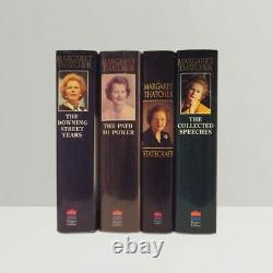 Margaret Thatcher 4 Book Collection Signed First Edition Books 1st Rare