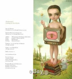 Mark Ryden Signed Stamped Wondertoonel Le Sc Book 1st Edition Beckett Bas Loa