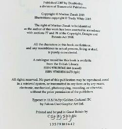 Markus Zusak The Book Thief First Edition Signed