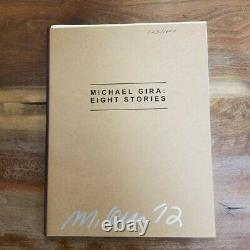 Michael Gira EIGHT STORIES #123/1000 Signed Limited Edition Book+CD SWANS 2012