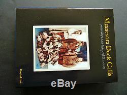 Minnesota Duck Calls, Rare autographed limited edition book #872 of 1000