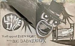 Mister Babadook Jennifer Kent Signed First Edition Pop Up Book