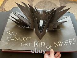 Mister Babadook Rare Pop Up Book Signed By Jennifer Kent Limited Edition