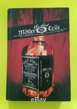 Motley Crue Complete X4 Signed Hardcover 1st Edition Book The Dirt Beckett Coa