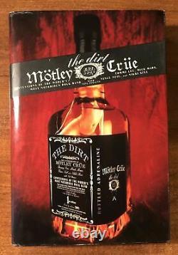 Motley Crue Fully Signed The Dirt Book X4 1st/1st Edition Full Coa Roger Epper