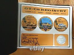 Mustang GT/CS Registry Book / Signed Numbered / 2011 Edition