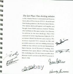 NASA 40th Anniversary Limited Edition # 0987/1500 Book. Signed by 37 Astronauts