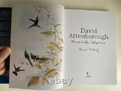 NEW LIFE STORIES Sir David Attenborough SIGNED Book 1st Edition HB 2011 Rare
