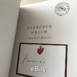 NWT Florence Welch Gucci Garden Useless Magic Signed Copy Limited Edition Book