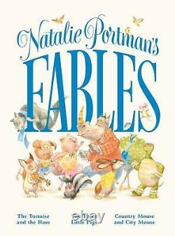 Natalie Portman SIGNED BOOK Fables 1ST EDITION Hardcover Actress Rare PREORDER