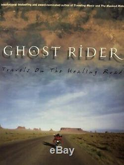 Neil Peart Of Rush Signed Ghost Rider Paperback Edition Book! In person