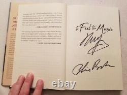 Neil Young & Phil Baker Autographed To Feel The Music 1st Edition Book