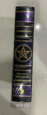 New Warbreaker Signed Brandon Sanderson Leather Hardcover Book First Edition