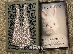 Nick Cave The death of Bunny Munro limited edition book signed by Nick